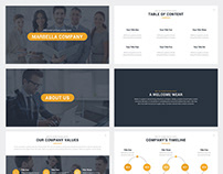 Marbella Company Google Slides Template