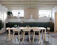 Duplex apartment in Stockholm