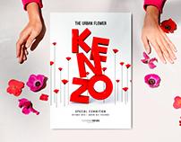 KENZO  3D Poster Design