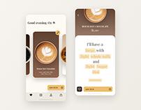 Cafe ordering app