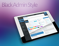 Sample Black Admin Template (Free Resource Download)