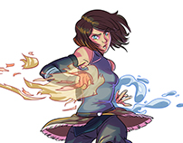 Avatar Korra fan art
