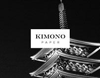 Art Direction for KimonoPaper