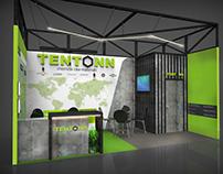 Tentonn exhibition stand