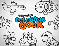 Animated Coloring Book