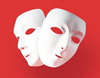 Masks & Roles — a series of posters