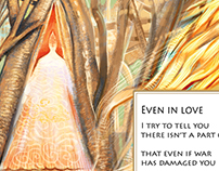 """Even in love"" poem by Nathalie Handal"