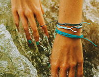 Pura Vida - Hammered Charms