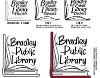 Logo Design, Bradley Public Library, Bradley IL