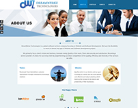 Web design Company Layout