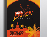 Cedevita Beach Workout - Visual Identity