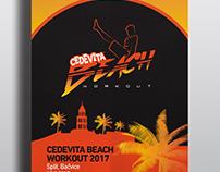 Cedevita Beach Workout - Visual Identity
