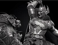 Batman VS Joker Dragon