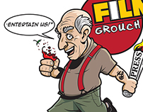 "LOGO DESIGN - ""FILM GROUCH"" logo"