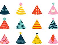 Tiny Party Hats