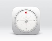 Compass - App & App Icon Design