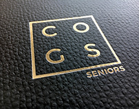 COGS SENIORS BRAND EXTENSION & INVITE DESIGN