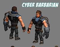 Сyber barbarian