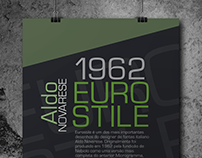 Cartaz All Type - Fonte Eurostile