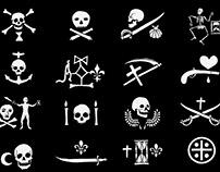 Pirate flag & drapeau pirate