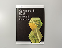 Editorial design: Connect 8 2016 Annual Review