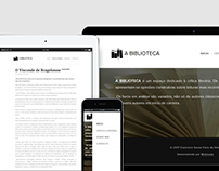 A BIBLIOTECA (website)