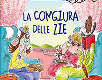 """Young readers book""""La congiura delle zie""""Giunti editore"""