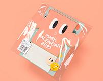 Mask Calendar 2021