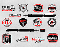 Vintage Logo Collection Vol1
