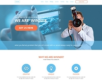 creative one page business template