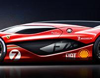 Ferrari F-SEVEN X