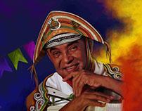 Ilustração Rei do Baião Luiz Gonzaga