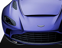 2020 Aston Martin V12 Speedster Indigo