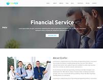 Confer - Consultancy, Finance & Business WordPress them