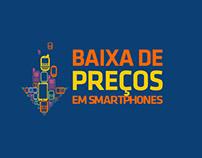 BAIXA DE PREÇOS EM SMARTPHONES