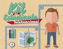Cartel UCLM - Kit del Estudiante Internacional