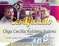 Certificado Julio 2016