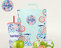 Logotype And Pattern/ FreshHouse/ Full Branding