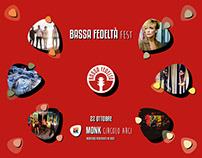 BASSA FEDELTÀ Fest | Advertising