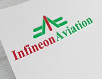 New #IA Logo Design. Infineon Aviation with Stationary!