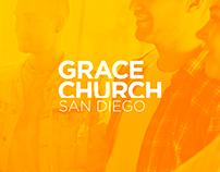 Grace Church San Diego Website Design