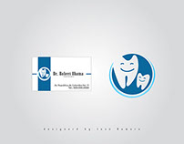 Business Cards Designs / Dr Dental Vector