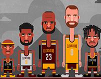 Cleveland Cavaliers Rebranding + Identity Design
