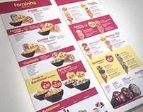 Fominha Pizza cone | Branding