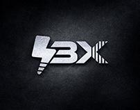 3X Letter Logo Design