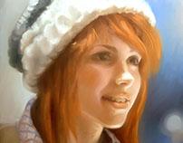 retrato Hayley