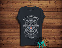 US AIR FORCE MEN TEES