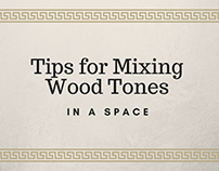 Tips for Mixing Wood Tones in a Space