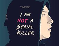 I AM NOT A SERIAL KILLER Poster Art