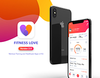 Fitness Love 2.0 – Workout Training and Healthcare Apps